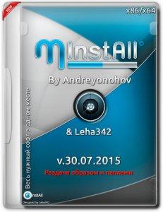 MInstAll v.30.07.2015 By Andreyonohov & Leha342 (x86-x64) (2015) [Rus]