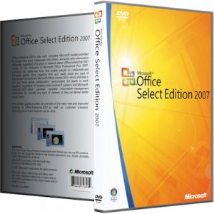 Microsoft Office 2007 SP3 Select Edition 12.0.6721.5000 RePack by KpoJIuK [Rus]