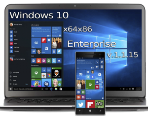 Windows 10 Enterprise (x64-x86) v.1.1.15 by UralSOFT (2015) Русский