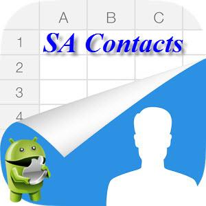 SA Contacts (старое название Excel  Contacts) v2.8.3.2 [Ru/Multi] - импорт и экспорт контактов