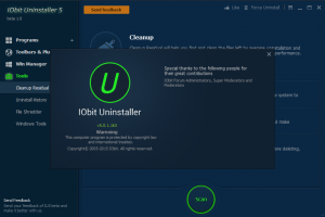 IOBit Uninstaller 5.0.1.163 beta 1.0 [Eng]