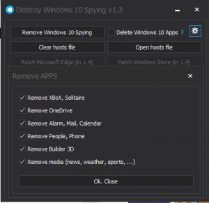Destroy Windows 10 Spying 1.3 Beta (x86 x64) (2015) RUS + ENG