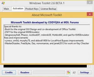 Microsoft Toolkit 2.6 BETA 1 [Eng]