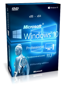Windows 10 Pro 10.0 build 1024 by OVGorskiy (x86-�64) (2015) [Rus]