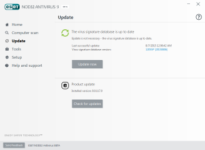 ESET NOD32 Antivirus 9.0.117.0 Beta [Eng]
