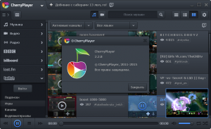 CherryPlayer 2.2.8 + portable [Multi/Ru]