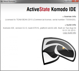 ActiveState Komodo IDE 9.2.0.87616 for Windows (x86), Mac OS X (x86 64), Linux (x86, x86 64) [2015, ENG]