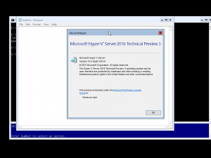 Microsoft Windows Hyper-V Server 2016 Technical Preview 3 (10.0.10514) (x64) (2015) [Eng] WZT