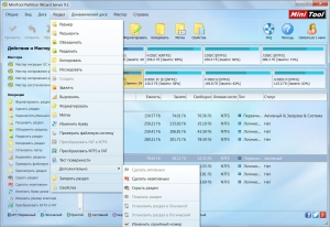 MiniTool Partition Wizard Server 9.1 RePack by WYLEK [Ru]