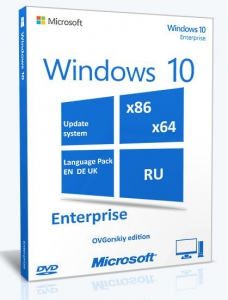 Microsoft® Windows® 10 Ent x86-x64 RU-en-de-uk by OVGorskiy® 08.2015 2DVD