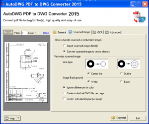 AutoDWG PDF to DWG Converter 2015 3.4 x86 x64 [2015, ENG]
