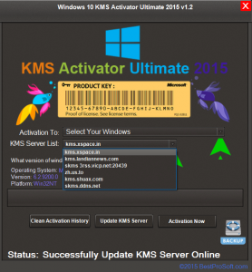 Windows 10 KMS Activator Ultimate 2015 v1.2 [ENG]