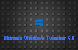 Ultimate Windows Tweaker 4.0.0.0 Portable [En]