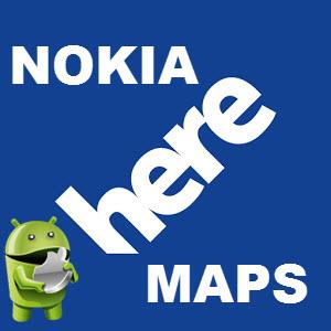 Here Maps v1.1.1031 [Ru/Multi] - Навигационная программа