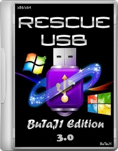 Rescue USB 16 Gb (BuTaJ1 Edition) 3.0 [Ru/En]