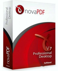 novaPDF Professional Desktop 7.7 Build 399 Final RePack by D!akov [Ru/En]