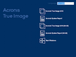 Acronis True Image 2016 19.0.5620 BootCD [Multi/Ru]