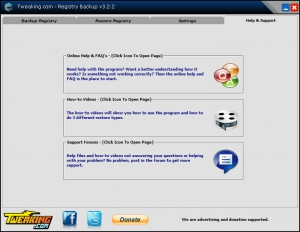 Registry Backup 3.2.2 + Portable [En]