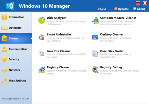 Windows 10 Manager 1.0.2 Final [Eng]