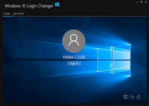 Windows 10 Login Changer 0.0.1.2 [En]