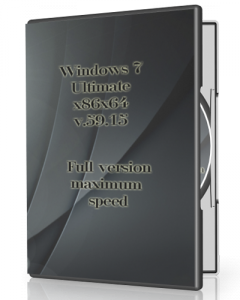 Windows 7 Ultimate v.59.15 by UralSOFT (x86x64) [Rus]