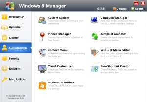 Windows 8 Manager 2.2.8 [En]