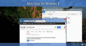 Aero Glass for Windows 8.1+ 1.4.1 RePack by mPaSoft [En]