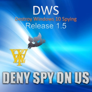 Destroy Windows 10 Spying 1.5 Build 475 [Multi/Ru]