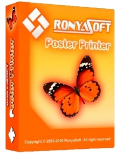 RonyaSoft Poster Printer 3.02.02 [Multi/Ru]