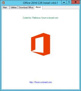 Microsoft Office 2013-2016 C2R Install 4.6.1 by Ratiborus [Multi/Ru]