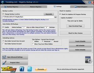 Registry Backup 3.3.1 + Portable [En]