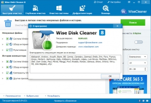 Wise Disk Cleaner 8.84.621 Final + Portable [Multi/Ru]