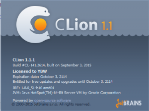 JetBrains CLion 1.1.1 Build #CL-141.2614 [En]