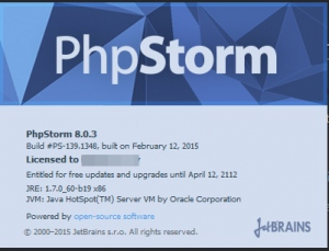 JetBrains PhpStorm 8.0.3 Build #139.1348 [En]