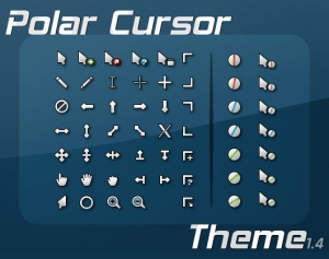 Polar Cursor Pack 3 Colors version 1.4 by jacksmafia [Multi/Ru]
