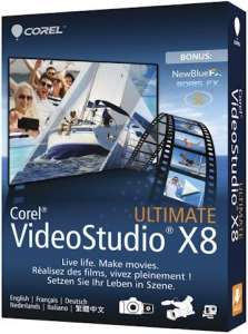 Corel VideoStudio Ultimate X8 18.6.06 Retail + Bonus Disc [Multi]