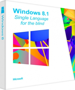 Windows 8.1 x64 Single Language NVDA для незрячих. 2015.12.11 [Ru]