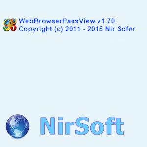 WebBrowserPassView 1.70 Portable [Ru/En]