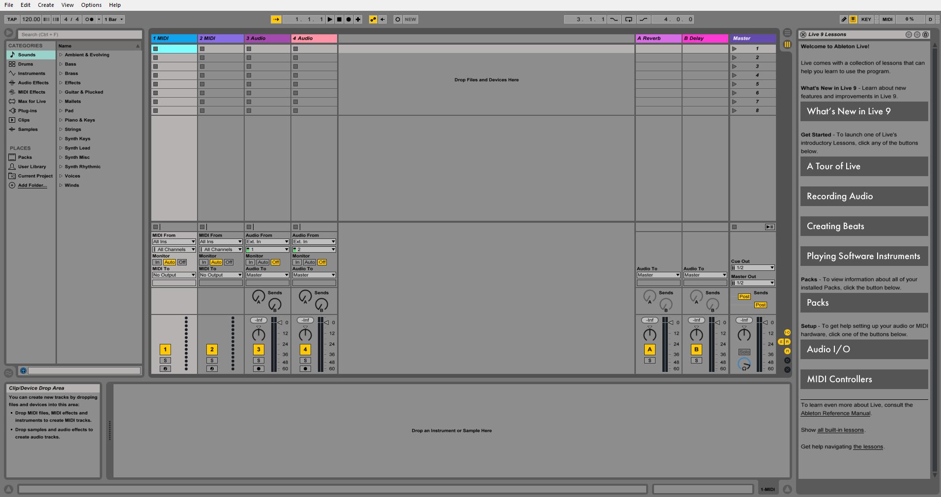 Инструкция Ableton Live 9