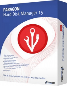 Paragon Hard Disk Manager 15 Professional 10.1.25.813 + WinPE Recovery Media Builder [En]