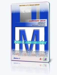 Total Commander 8.52a VIM 10 Matros portable [Ru]