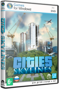 Cities: Skylines [Ru/Multi] (1.2.2-f3/dlc) Repack =nemos= [Deluxe Edition]