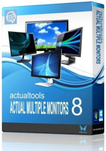 Actual Multiple Monitors 8.6.2 [Multi/Ru]