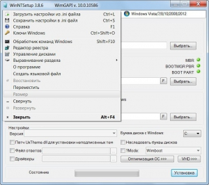 WinNTSetup 3.8.6 Final Portable [Multi/Ru]
