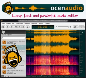 Ocenaudio 3.0.5 + Portable [Multi/Ru]