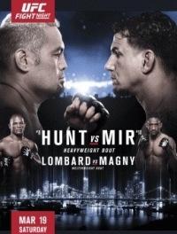 Смешанные единоборства - UFC Fight Night 85