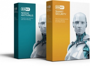 ESET Smart Security + NOD32 Antivirus 9.0.375.1 Repack by SmokieBlahBlah [Ru]