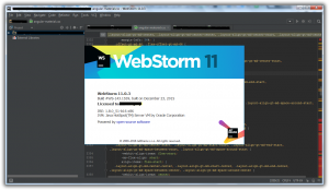 JetBrains WebStorm 11.0.3 Build #WS-143.1559 [En]