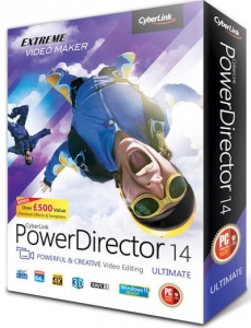 CyberLink PowerDirector Ultimate 14.0.2707.0 [Multi/Ru]