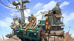 (Linux) Deponia: The Complete Journey [Ru/Multi] (3.2.4.0142) SteamRip